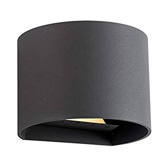 LED-Wandleuchte-Goura-anthrazit