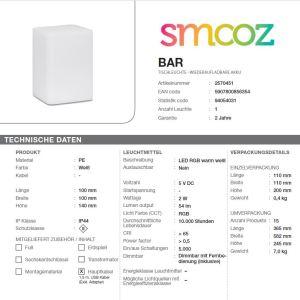 Smooz-Tischleuchte-BAR