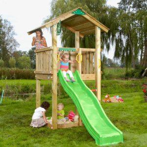 Spielturm Casa mit Holzdach