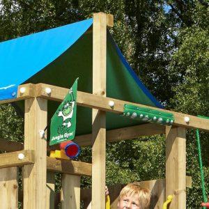 Spielturm Lodge Dachdetail