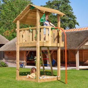 Spielturm Shelter mit Rutschstange