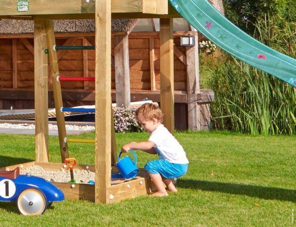 Spielturm Shelter mit Sandkasten