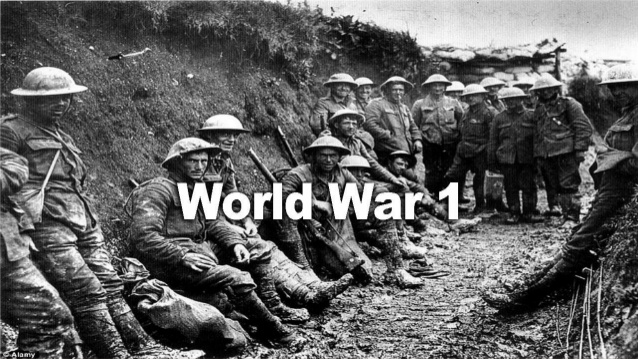 Major Events of First-1 WORLD WAR- 1914-1919
