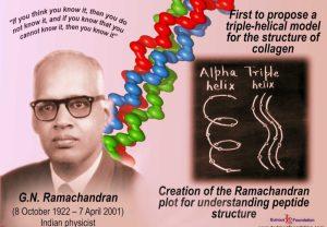 G.N. Ramachandran-Scientist of India