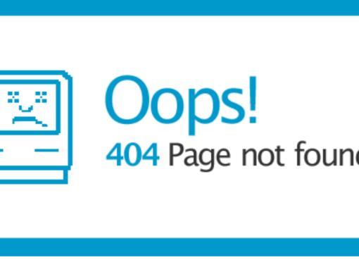 http error code - page not found