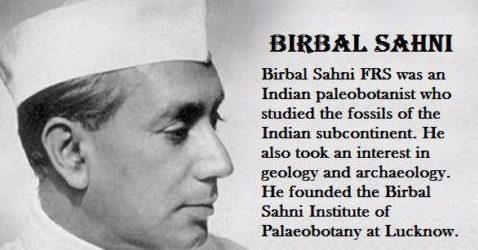 Birbal Sahni - Indian Scientist