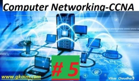 Computer Networking #5 -Questions and Answers - gkaim