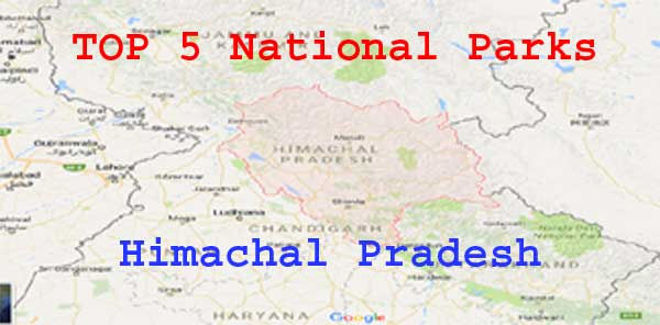 List of Important National Parks in Himachal Pradesh