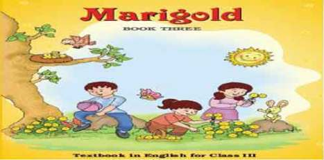 Marigold Class 3 English Text book pdf Download- NCERT/CBSE Board