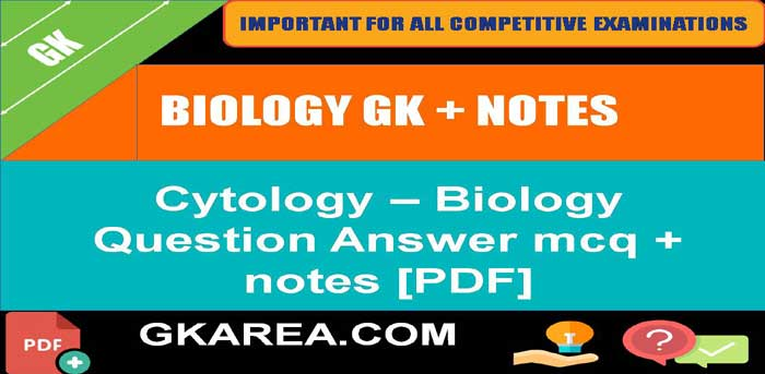 Cytology Related Question Answer