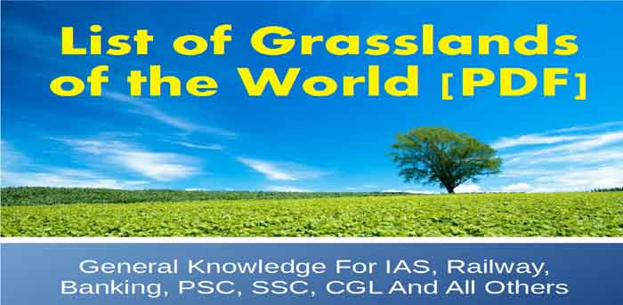 gk on Famous Grasslands in the world