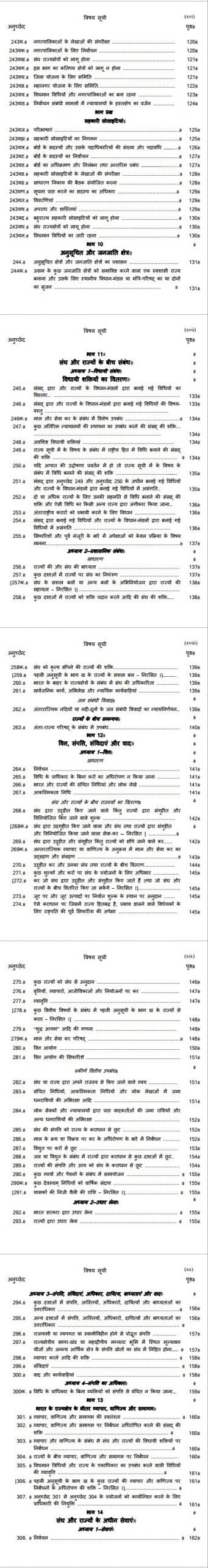 Articles 234 to 308 in Hindi