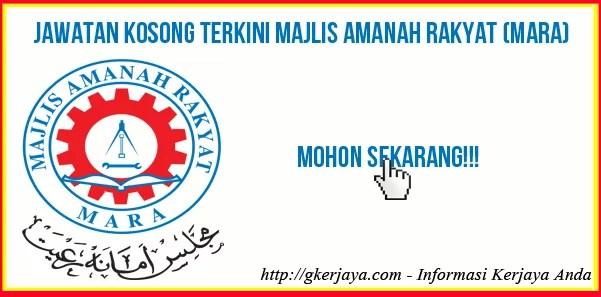 Jawatan Kosong Mara FIT Center Sdn Bhd