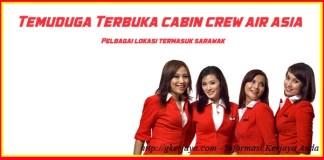 Temuduga Terbuka Air Asia Cabin Crew