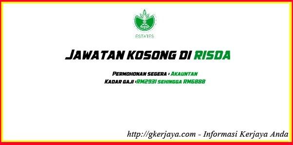 Jawatan Kosong Risda ESPEK Livestock Sdn Bhd