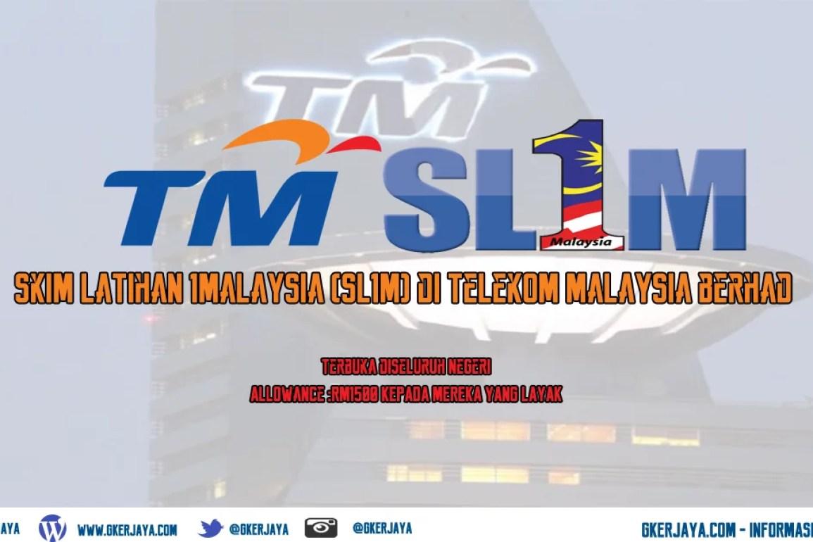 Skim Latihan 1 Malaysia Telekom Malaysia Berhad