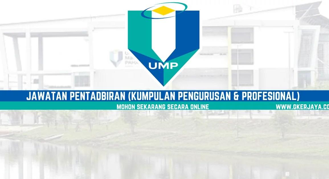 Iklan Jawatan Kosong di Universiti Malaysia Pahang