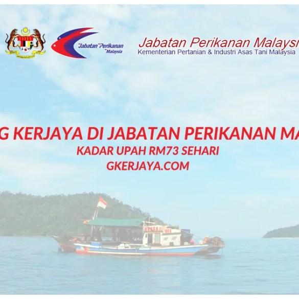 Kerja Jabatan Perikanan Malaysia Iklan Jawatan Kosong