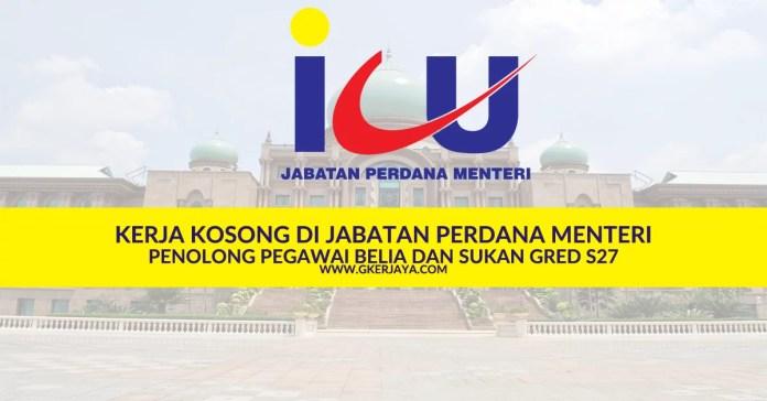 Kerja Kosong Selangor Jabatan Perdana Menteri
