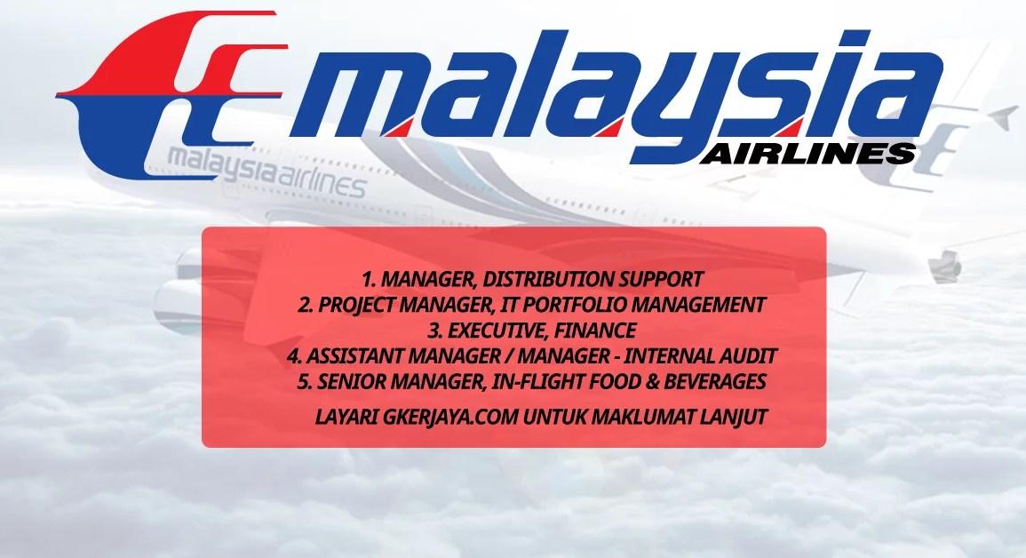 Kerja Kosong di Malaysia Airlines Berhad