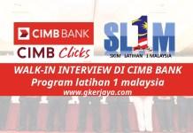 Cimb Bank SL1M Temuduga Terbuka