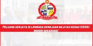 Jawatan Kosong di Lembaga Kemajuan Wilayah Kedah