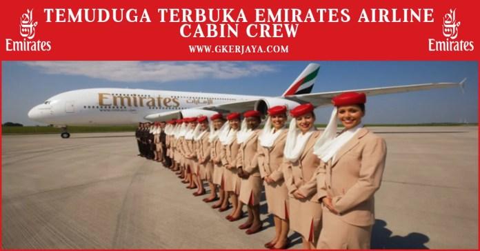 Peluang Kerjaya sebagai Cabin Crew Emirates Airlines
