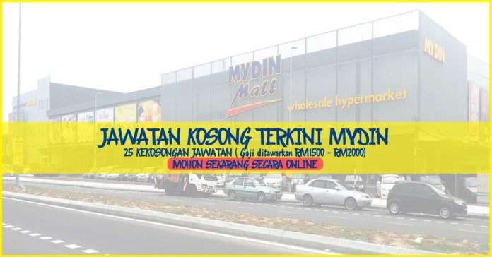 Iklan Jawatan Kosong Mydin Selangor Terkini