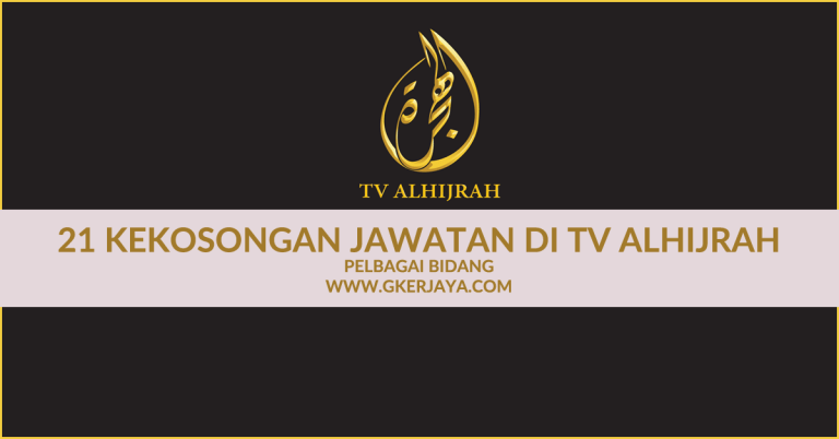 Kerja kosong Terkini di TV Alhijrah 21 Kekosongan