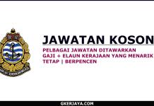 Iklan Jawatan Kosong Jabatan Laut Malaysia