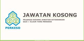Iklan jawatan Kosong Perkeso
