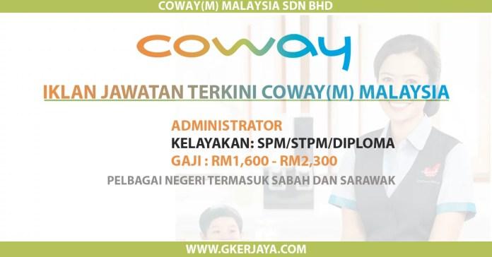 Iklan jawatan kosong Coway malaysia