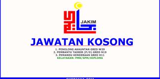 Jawatan Kosong Jabatan Kemajuan Islam Malaysia (JAKIM)