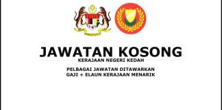 Jawatan Kosong Kerajaan Negeri Kedah