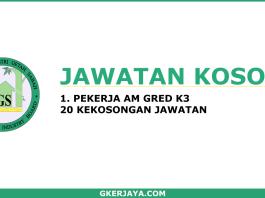 Jawatan Kosong Lembaga Industri Getah Sabah