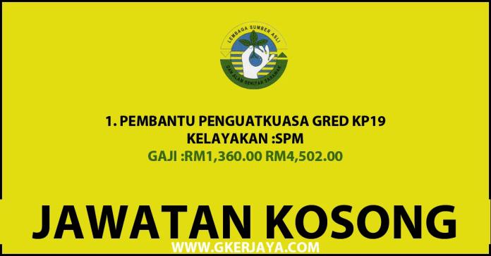 Jawatan Kosong Pembantu Penguatkuasa Sarawak