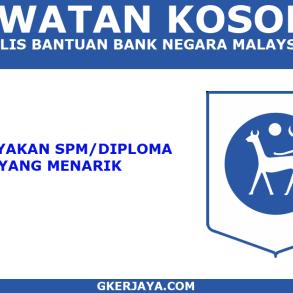 Jawatan Kosong Polis bantuan Bank Negara Malaysia Pengambilan