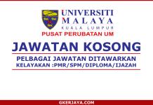 Jawatan Kosong Pusat Perubatan Universiti Malaya