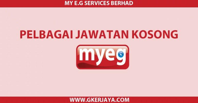Jawatan Kosong Terkini MYEG Services Berhad