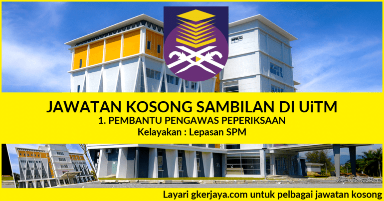 Jawatan Kosong UiTM Negeri Sabah Pekerja Sambilan