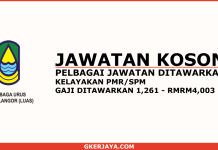 Jawatan kosong di Lembaga Urus Air Selangor