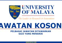 Jawatan kosong terkini di Pusat Universiti Malaya