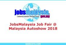 JobsMalaysia Job Fair @ MAI Malaysia Autoshow 2018
