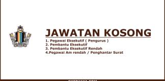 Kerja Kosong Koperasi Pegawai Kerajaan Daerah Johor Bahru Berhad