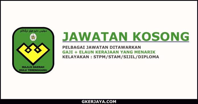 Kerja Kosong Majlis Daerah Hulu Terengganu