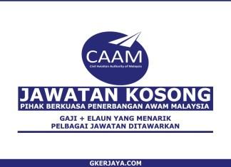 Kerja Kosong Pihak Berkuasa Penerbangan Awam Malaysia