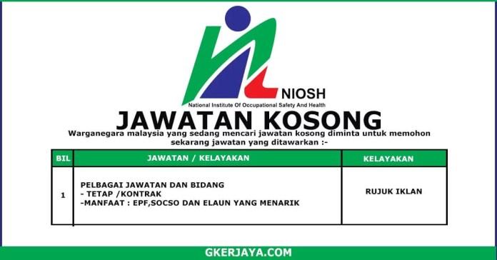 Kerja Kosong Terkini NIOSH (1)