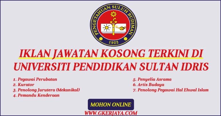 kerja-kosong-upsi-universiti-pendidikan-sultan-idris