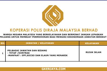 Kerja Terkini Koperasi Polis DiRaja Malaysia (1)