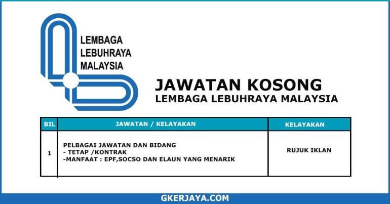 Kerja Terkini Lembaga Lebuh Raya Malaysia (1)